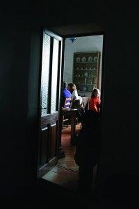 View_through_doorway